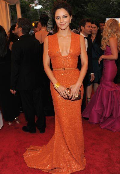 2012 Met Costume Institute Gala red carpet arrival pictures: Katharine McPhee