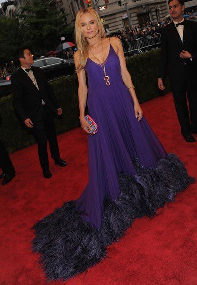2012 Met Costume Institute Gala red carpet arrival pictures: Diane Kruger