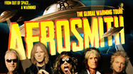 "<span style=""font-size: small;"">The Aerosmith camp was busy over the weekend frontman Steven Tyler tweeted """"our first video (in a while)…"" Video director Casey Patrick Tebo tweeted, ""Gonna show the world who's still the baddest band in the land."" Can't wait for people to see the new Aerosmith video. Looked great and really rocked. Psyched."" Neither man revealed what song the video was being filmed for. Aerosmith will kick off its Global Warming tour on June 16 in Minneapolis.</span>"