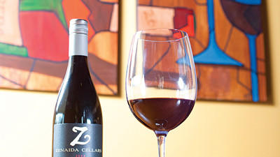 Riggs¿ dish pairs well with a 2008 Syrah from Zenaida Cellars in Paso Robles.