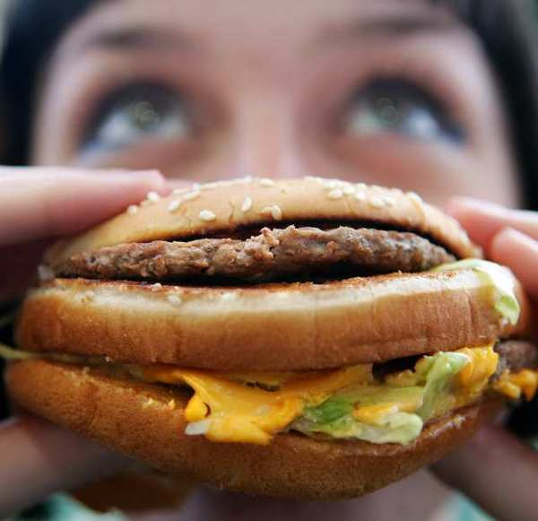 Burger and fast-food sales at McDonald's and Wendy's came in below expectations on Tuesday.