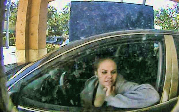 Delray Beach Police are looking for a woman suspected of check fraud for trying to cash more checks stolen from cars in Fort Lauderdale and Martin County.