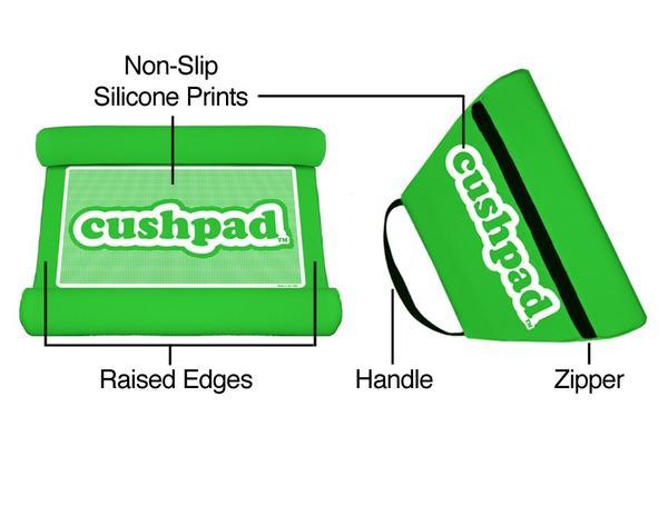 Adam Raby created the Cushpad, a plush case for the iPad.