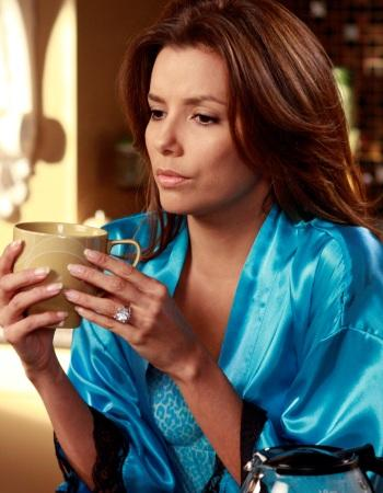 'Desperate Housewives': Gabby Solis' notable quotables: Ana: I love him. Did you hear me? I said I love him.  Gabby: I heard you, I was swallowing vomit.