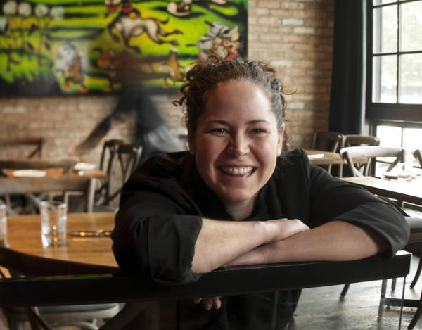 "After winning the fourth season of ""Top Chef"" filmed in her hometown of Chicago, Stephanie Izard opened Girl & the Goat in the West Loop."