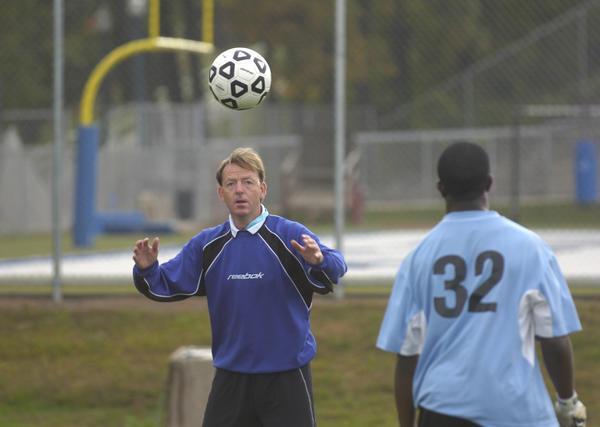 Central coach Shaun Green in 2006.