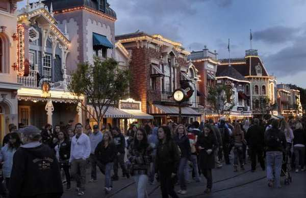 Seems like the 'small businesses' along Main Street in Disneyland are among the happiest in California, which was voted one of the least-friendly places to do business.