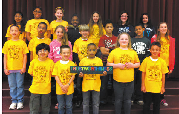 Eastern Elementary named its March Citizens of the Month. Front row, from left, Sean Briceno, Robert Cook, Taric Tyson, April Perkins and Demetrius Keyes. Middle row, Sarah Peersen, Kyler Beander, Ashley Hurley, Bennet Florentin, Marcus Hill, Roman Stinson and Jade Brady. Back row, Diya Patel, Imani Hinton, Hana Fuller, Dinestie Capers, Amber Slick, Kierstan Hahn and Domenica Almeida. Not pictured: Avion Lowery.