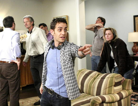 Jason Winer directing 'Modern Family'