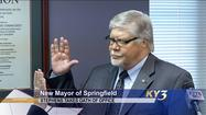 SPRINGFIELD, Mo. --  Around noontime on Tuesday, Bob Stephens was officially sworn in as mayor of Springfield.   The unexpected change in leadership came the day after Jim O'Neal resigned as mayor.