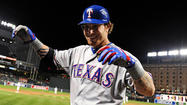 Josh Hamilton hits four home runs as Rangers rout Orioles, 10-3