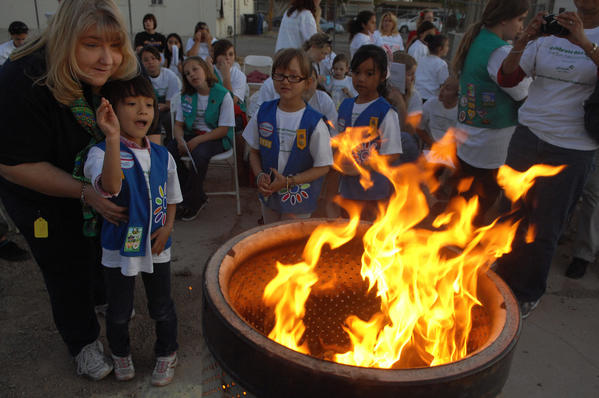 Girl Scouts celebrate their 100th anniversary