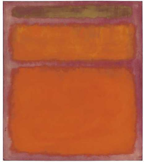 "Mark Rothko's ""Orange, Red, Yellow"" (1961)"