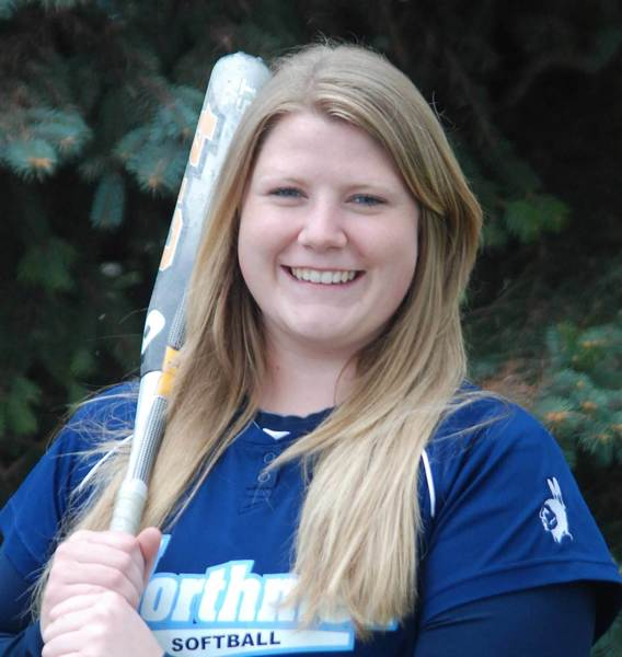 Ellen Loper was the winning pitcher in game one and homered in the nightcap, leading the Petoskey High School softball team to a doubleheader sweep of Sault Ste. Marie on Tuesday.
