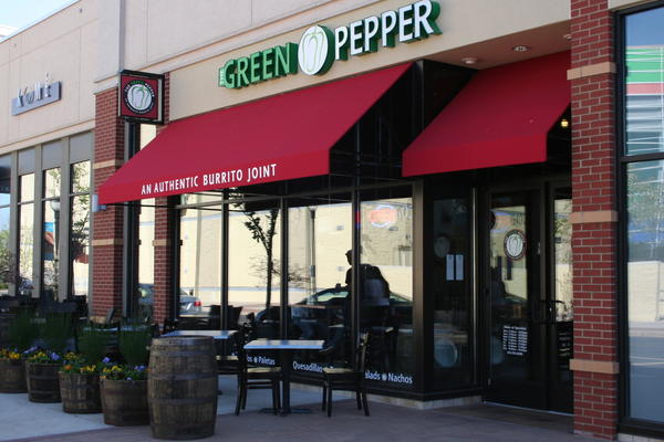 The Green Pepper serves up burritos at the Promenade Shops in Center Valley.