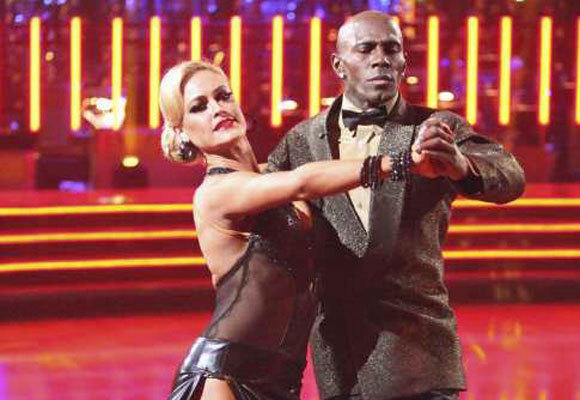 "Donald Driver and Peta Murgatroyd compete Monday on ""Dancing With the Stars."""