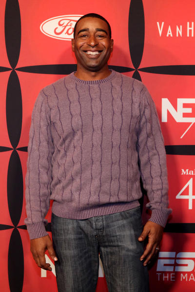 Former professional football player and current ESPN NFL analyst Cris Carter attends ESPN The Magazine's 'NEXT' Event.