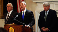 O'Malley, Busch, Miller unveil budget agreement for special session