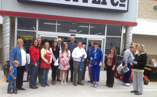Employees and local dignitaries were among those who attended the April 28 grand opening of Tractor Supply Co. at 1040 Somerset Blvd. in Charles Town, W.Va.