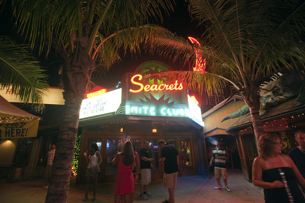 The night club at Seacrets, just one of the entities owned by the popular entertainment and dining destination in Ocean City.