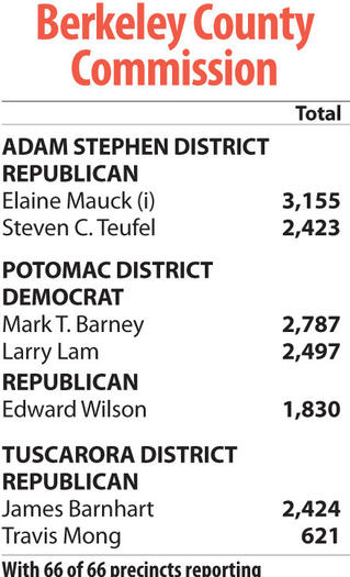 Berkeley County Commission race