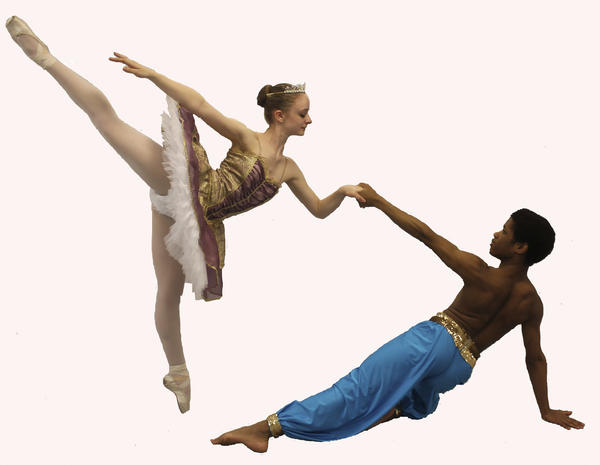 Members of Western Maryland City Ballet Company will perform Le Corsaire Saturday at The Maryland Theatre in downtown Hagerstown.