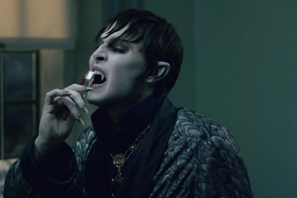 "Johnny Depp stars in ""Dark Shadows."""