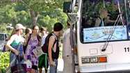 The beach bus is back. On Monday the La Cañada City Council agreed to spend nearly $13,000 next year to bring the popular beach shuttle back this summer. The service, offered by Los Angeles County Public Works Department, offers locals the chance to ride from Memorial Park to Santa Monica Pier for $3 each, $1.50 for seniors.