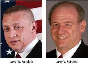 Larry W. and Larry V. Faircloth