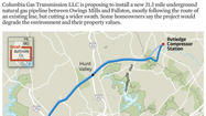 Fallston residents livid over potential gas pipeline