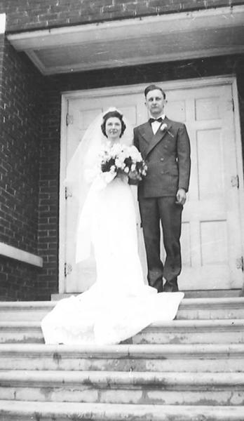Mr. and Mrs. Jack Taylor, 1942