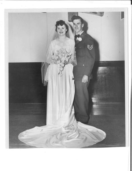 Mr. and Mrs. Thomas N. Drianis, 1952