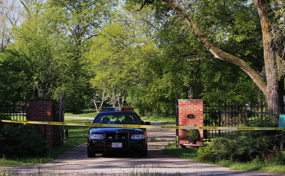 Two dead in Barrington Hills home