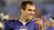 "Joe Flacco was mocked by media and fans last month when he said that <a href=""http://articles.baltimoresun.com/2012-04-04/sports/bal-ravens-qb-joe-flaccos-boast-made-into-more-than-it-was-20120404_1_ravens-qb-joe-flacco-top-five-quarterback-ravens-quarterback"" target=""_blank"">he thinks of himself as the NFL's best quarterback</a>. ""I wouldn't be very successful at my job if I didn't feel that way,"" the Ravens quarterback explained."