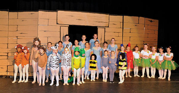 "Winchester Christian Ballet students will present ""Praise Him in Dance and the Ark"" at 7 p.m. Saturday at George Rogers Clark High School. The show is an interpretation of the story of Noah and the ark through dance. The show is free and open to the public."