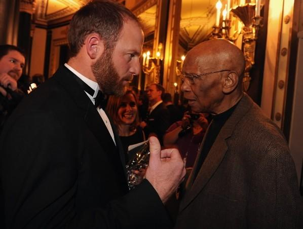 Ryan Dempster and Ernie Banks