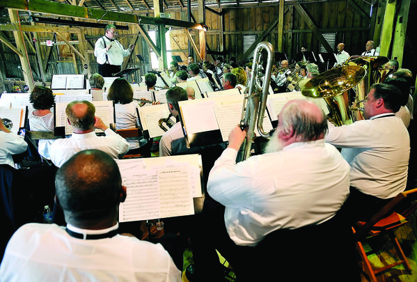 Williamsport Community Band will present a Mother's Day concert at 3 p.m. Sunday, May 13, at Springfield Farm barn, Springfield Lane, Williamsport.