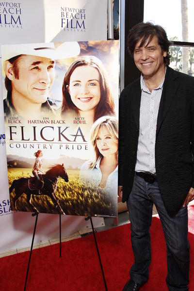 "Director Michael Damian at the Newport Beach Film Festival premiere of ""Flicka: Country Pride"" at Triangle Square Cinemas in Costa Mesa on April 28."