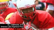 Lake Highland's B.J. Simpson 1st lands offer from future D-I school South Alabama