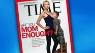 "SAN DIEGO - A TIME magazine cover featuring a photograph of a 26-year-old mother <a href=""#"" data-topic-id=""HHA0000091"">breastfeeding</a> her toddler is causing quite the controversy."