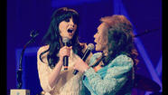 Zooey Deschanel and Loretta Lynn