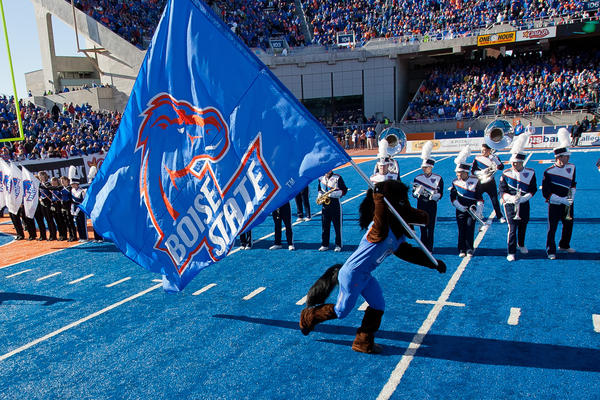 Boise State might leave the Big East blue if it decided not to come.