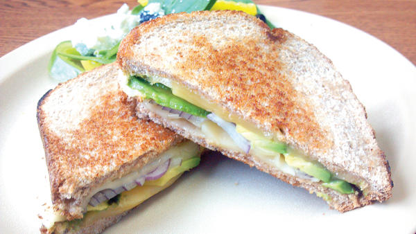 Avocados and good cheeses make this sandwich a standout.