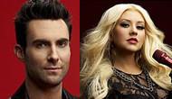 Adam Levine & Christina Aguilera,