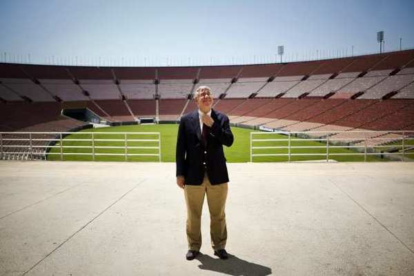 John Sandbrook, interim general manager of the Los Angeles Memorial Coliseum.