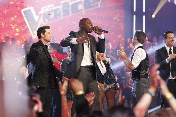 "Jermaine Paul, a former backup singer for Alicia Keys and Mary J. Blige took home the Season 2 title of ""The Voice."""