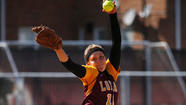 Another impressive pitching performance by sophomore Brittany Gardner of Sandburg has put the Loyola University women's softball team into the final of the Horizon League tournament for the first time since 2004.