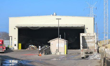 Veolia Solid Waste Midwest owns and operates a waste transfer station in the 1700 block of Church Street