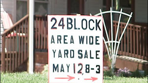 Massive yard sale in Roanoke