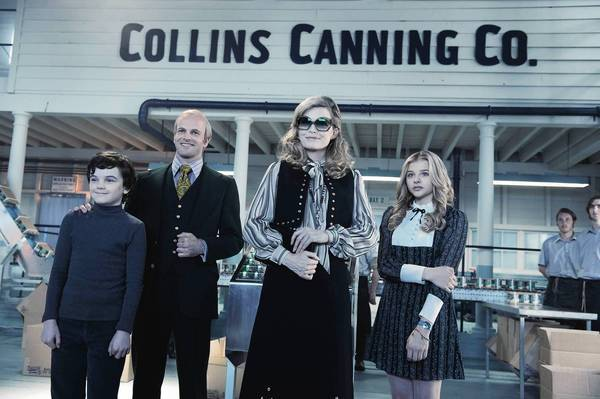 "Colleen Atwood brought classic 1970s looks to the wardrobes of the ""Dark Shadows"" cast, including Gully McGrath, left, Jonny Lee Miller, Michelle Pfeiffer and Chloë Grace Moretz."